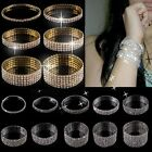 Shiny Crystal Stretch Bracelet Bling Elasticity Bangle Jewelry For Wedding Party