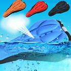 Cycling Bike Bicycle Saddle Comfortable Silicone Seat Cover Cushion Soft Pad- CB