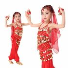 Girls Belly Dance kids Clothes Indian Performance Dance wear Costume Gifts