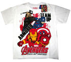 Avengers Ultron Iron Man boys cotton t-shirt Size 6,8,10,12 Age 4-8y Free Ship