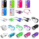 TPU Jelly Rubber Gel Case+6ft Cord+DC+AC Charger For Samsung Galaxy S6 Edge / S6