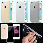 Transparent TPU Rubber Gel Ultra Thin Case Cover Clear For Apple iPhone 6 6 Plus