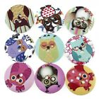 20pcs Bulk Mixed Pattern Wooden Buttons DIY Craft Sewing Scrapbook 20mm