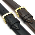 Extra-Long Watch Band Strap Padded Leather 18mm 20mm 22mm 24mm