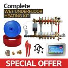 Water Underfloor Heating-Single Room Kit covers 100m2 with PE-X Pipe High Output