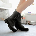 Superior England Women's Sexy Lace-up Boots Ankle Boots Martin Boots Shoes US LA