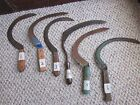 YOUR CHOICE OF VINTAGE GRASS CUTTERS, SICKLE, GRIM REAPER. GREAT HOME DECOR ITEM