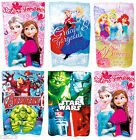 Official Character Fleece Blanket, Disney Frozen Avengers Star Wars Blankets