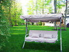 "New Outdoor Swing Canopy Replacement Porch Top Cover Seat Patio 77""x43"""