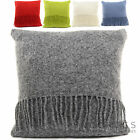 100% British Pure Wool Cushion Cover & Quality Inner / Pillow many colours