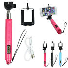 Zooming Wireless Bluetooth Monopod Self Photo Selfie Stick For IOS Android Phone