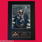 BB KING Signed Autograph Mounted Photo Reproduction PRINT A4 565