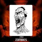 Airbrush stencil template ZOMBIE ZOMBIES DeltaArts NEW 2 SIZES XL XXL  ZMB2