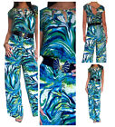Ladies Jumpsuit Playsuit Womens Party Evening Maxi Dress Size 8 10 12 14 16 18