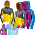 Women Lady Breathable Hiking Camping Outdoor Fleece Hood Jacket UK