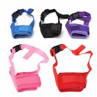Adjustable Safety Dog Muzzle Pet Puppy Mesh Mouth Mask Anti Biting Barking S-XL