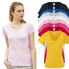 FRUIT OF THE LOOM - Lady-Fit Valueweight V-Neck T - Modell 2013 - Gr. XS-XXL