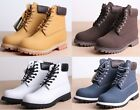 Work Mens Casual Riding Shoes Lace Up Military Ankle Boots Motorcycle Outdoor