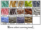 50 Cube Czech Glass Beads Choose Color