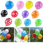 20-100 pc Optional Plain Polka Dots Latex Balloons Wedding Birthday Party Decor