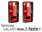 Coca Cola Vending Machine Samsung Galaxy Note 3/ 4 Phone RUBBER Edge Case cl1 $12.07  on eBay