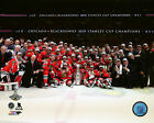 Chicago Blackhawks 2015 Stanley Cup Champions Team Celebration On Ice Photo