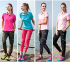 NEW Women Breathable Hiking Climbing Quick-drying Slim Outdoor Pencil Pants UK