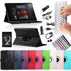 For Kindle Fire HD 8.9 2012 Rotating PU Leather Case Wireless Bluetooth Keyboard