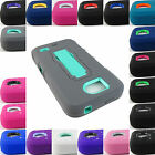 FOR ZTE OVERTURE 2 / FANFARE MAVEN RUGGED HYBRID ARMOR IMPACT CASE COVER+STYLUS