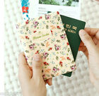 Blossom Garden Travel Passport Holder Case Cover Ticket Card ID Cute Wallet