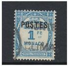 Monaco - 1937/8, 1f Postage Due stamp - Used - SG 159