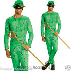 C722 Classic DC The Riddler Muscle Chest Batman Rogues Gallery Adult Men Costume