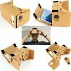 Hot Google Cardboard 3D Vr Virtual Reality Glasses with NFC Tag Head Mount DIY