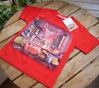 New Red Cars McQueen Short Sleeve T-SHIRT #991 size 3 FOR AGE 3-8 Cute
