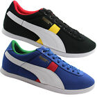 Puma LoPro Brasil Country Series Mens Trainers Black Blue Germany Italy