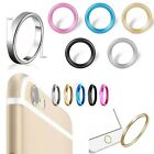 5 Color Camera Lens Protective Metal Cover Case Installed Ring Circle For iphone