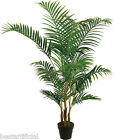 Best Artificial 5ft 150cm ARECA PALM Tree Tropical PLANT Office Conservatory new