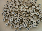 WOODEN LETTER CUBES**ALPHABET**LEARNING**CRAFTS**WOOD**