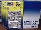 4 CHEVY 283 ENGINE & TRANNY KITS MINT 1:25th REVELL NO LONGER MADE