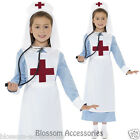 CK447 WW1 Nurse Kids Girls Hospital Great War Fancy Dress Costume Nightingale