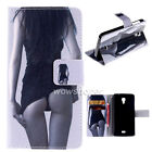 PU Leather Wallet v22 Flip Stand Card Case Cover For Wiko Serious Model Phone