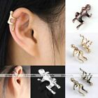 1pc Unisex Climbing Men Hug Ear Cuff Wrap Earring Non Piercing Jewelry Punk Rock