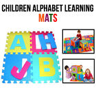 26 Soft Foam EVA Letters Kids Alphabet Learning Floor Mats Toy Play Room Puzzles