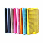 New leather flip case cover for Samsung Galaxy s6 +stylus BL