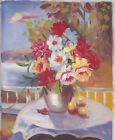 VASE OF FLOWERS 4 30 TO CHOOSE FROM ART OIL PAINTING OR CANVAS PRINTS 8x10""