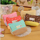 Valuable Lady Coin Key Purse Floral Canva Coin Wallet Cosmetic Makeup Pouch LACA
