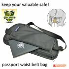 Travel Pouch Security Tips Travel Passport Secret Waist Belt Bag Secure Wallet