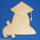 Female Graduate Unfinished Wood Shape FG361 Crafts Lindahl Woodcrafts
