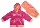 Reebok Jogging Set Babys Tracksuit Girls Toddler Childrens (D01725) R17