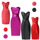 Sexy Short Bridesmaid Dress Wedding Cocktail Ball Gown Formal Evening Prom Dress